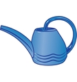 Plastic watering can for watering the garden vector image vector image