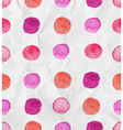 Seamless watercolor spot background vector image
