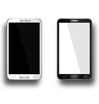 a mobile phones black and white vector image vector image