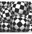 background of the balls vector image vector image