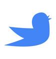 bird symbol of nature vector image vector image