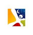 dreams logo design template vector image