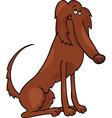 irish setter dog cartoon vector image vector image