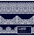 Lace Patterns Set vector image vector image