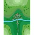 Landscape plan vector image
