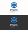 Logo for building company vector image vector image