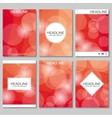 Modern templates for brochure flyer cover vector image vector image