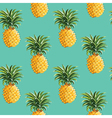 Pineapples Background vector image vector image