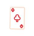 poker cards design vector image vector image