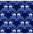 Seamless pattern in Gzhel style National ornament vector image vector image