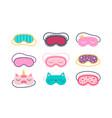 Set sleep masks for eyes night accessory