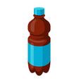 stylized bottle soda or cola vector image