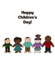 world childrens day picture for your design card vector image vector image