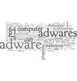 adware tale computer hijackers vector image vector image
