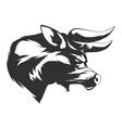 Angry Bull vector image