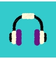 flat icon design collection music vector image