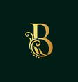 golden initial b
