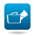 Medical bag icon in simple style vector image vector image