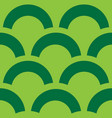 trendy pattern green abstract background vector image