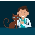 veterinarian related icons image vector image vector image