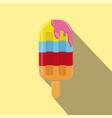 ice cream isolated flat style vector image
