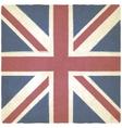 Union Jack old background vector image
