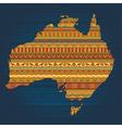 australian ethnic elements vector image