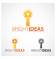 Bright Ideas vector image vector image