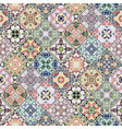 decorative background in ethnic style decorative vector image vector image