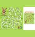 easter game for kids vector image vector image