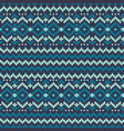 knitted pixel pattern repeat great vector image vector image