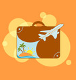 resort beach vacation vector image