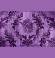rococo texture pattern floral ornament vector image vector image