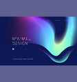abstract backgrounds with vibrant gradient shapes vector image