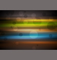 colorful glowing stripes abstract background vector image vector image