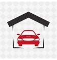 Garage icon design vector image vector image