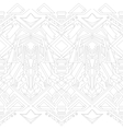 Gray outline pattern vector image