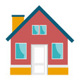 small house cartoon vector image vector image