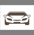 car cartoon icon graphic vector image vector image