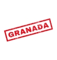 Granada Rubber Stamp vector image vector image