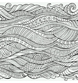 outline abstract ornamental ethnic stripe vector image