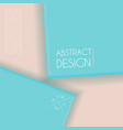 paper art abstract background vector image vector image