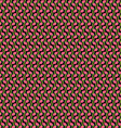Pink green black pattern vector image vector image