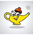 teapot character vector image