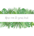 wedding invite invitation card floral greenery vector image