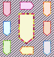 A Set of Abstract Corlorful Banner vector image vector image
