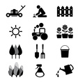 Agricultural Equipment Icons vector image