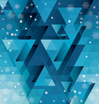 Background Merry Christmas vector image