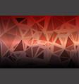 red orange purple random sizes low poly background vector image vector image