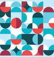 retro 60s and 70s style seamless pattern vector image